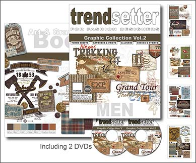 Trendsetter - Men Graphic Collection Vol. 2 incl. DVD